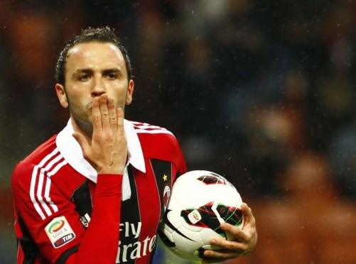 Pazzini Scores a Brace vs Catania !