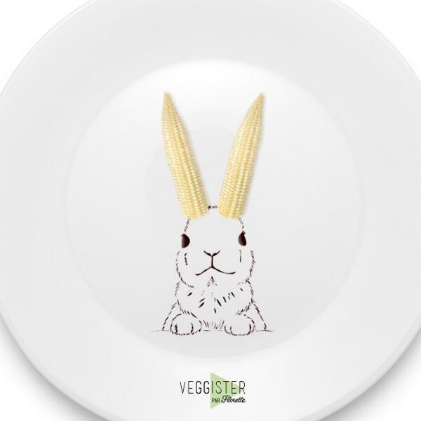 Pâques approche ! On saute sur l'occasion pour vous faire découvrir tout le potager Florette… #Veggister #FoodArt