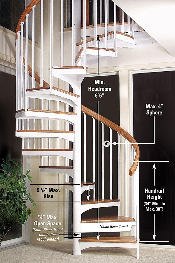Spiral Staircase Code Escadas Em Espiral Escadas Interiores