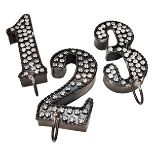 Number Hooks | Rain CollectionEtsy Ideas, Hooks Jewels, Jewels Rhinestones, Rhinestones Numbers, Office'S Crafts Spaces, Random Stuff, Entry Remodeling, Rain Collection, Numbers Hooks Easy