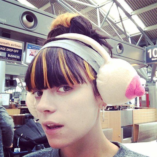 Pin for Later: Die Stars tragen Haare in allen Regenbogenfarben Lily Allen Quelle: Instagram user lilyallen