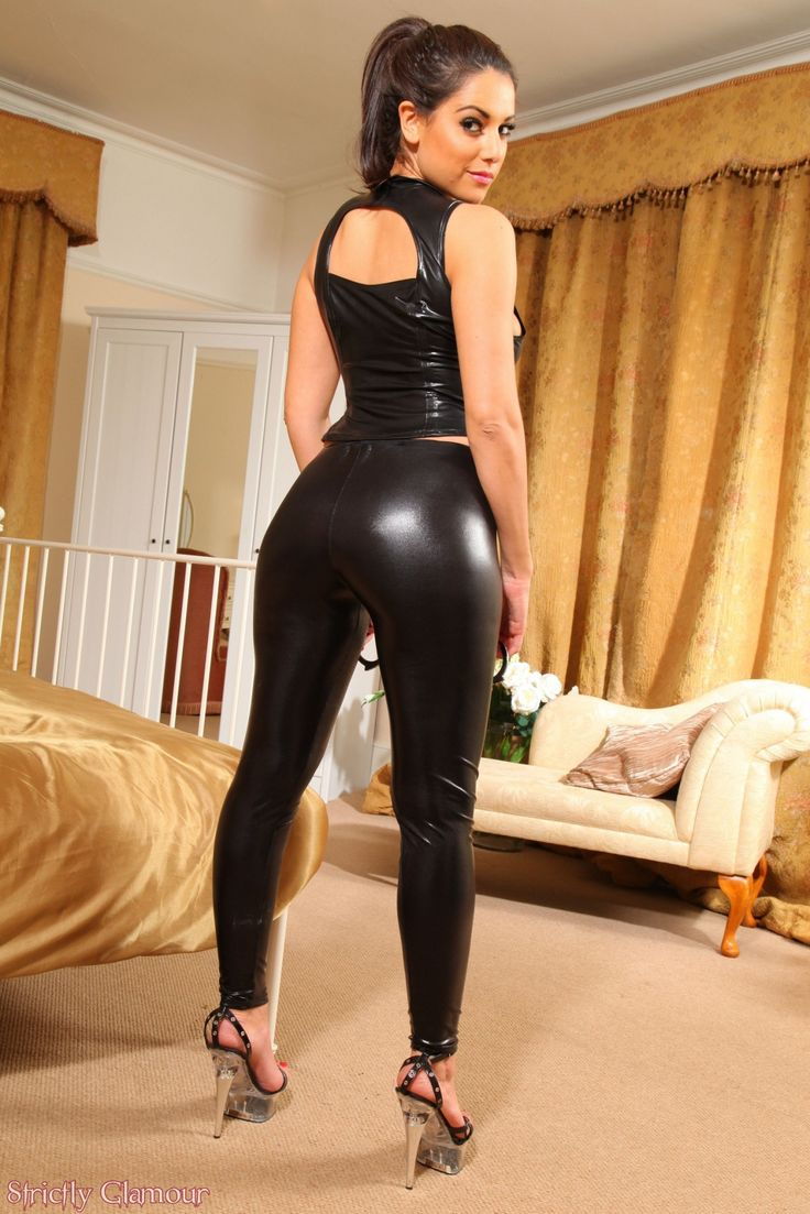 latex leggings flim