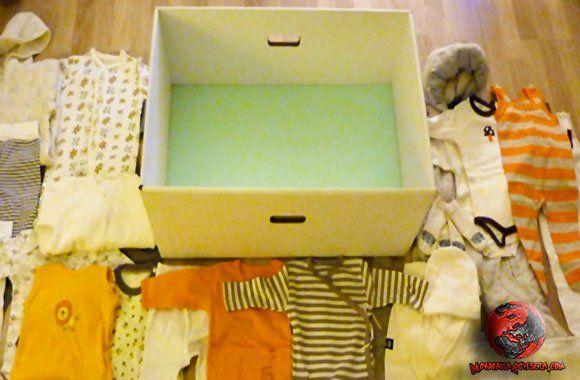 Il pacco maternità del governo finlandese? Una scatola di cartone. La scatola contiene il necessario per il bambino e può essere utilizzata come letto.....http://www.mondoallarovescia.com/il-pacco-maternita-del-governo-finlandese-una-scatola-di-cartone/