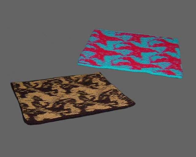 Escher-style Illusion Cushion Covers