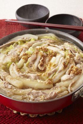 豚バラと白菜の重ね鍋 スタミナ味