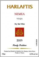Harlaftis Nemea red dry wine, USA label, sold only to USA to Athenee  Importers in NY.
