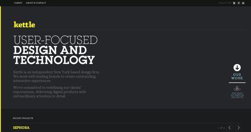 39 Inspiring Typography Web Designs