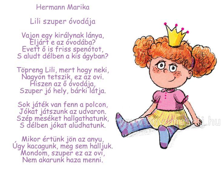 Lili szuper óvodája! :-)