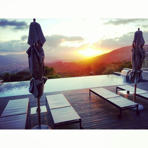 Sunset at Casa Colleverde