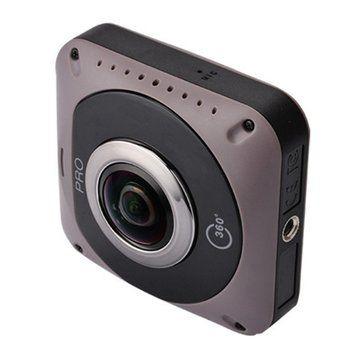 360°*360° Panoramic VR Sports Camera 720° Mini WiFi Action Sports DV Double Sided Fish Eyes Lens Gravity Sensor Sale - Banggood.com
