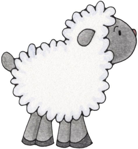 17 mejores ideas sobre ovejas para dibujar en pinterest - Figuras belen infantil ...