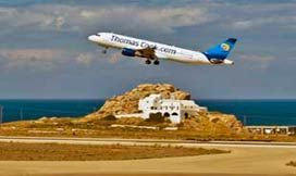Airlines that fly to Santorini Airport JTR