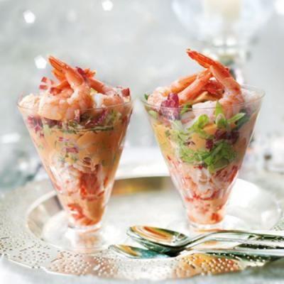 Cocktail ecrevisse crevette
