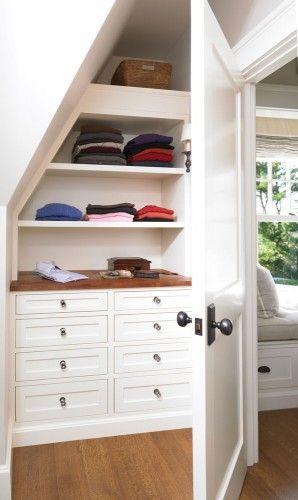 Ideas Attic Bedrooms Built Ins Closets Closet Design Bedrooms