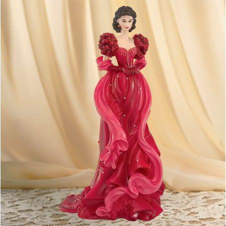 Thomas Kinkade Lady Figurines | ... Dixieland Diva Scarlett O' Hara Lady Figurine - Bradford Exchange