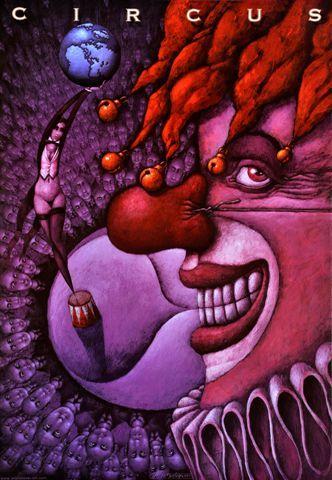 Leszek Wiśniewski, Circus (clown), Size: B1