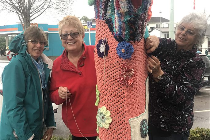 SunLive - Greerton Village shows its heart - The Bay's News First