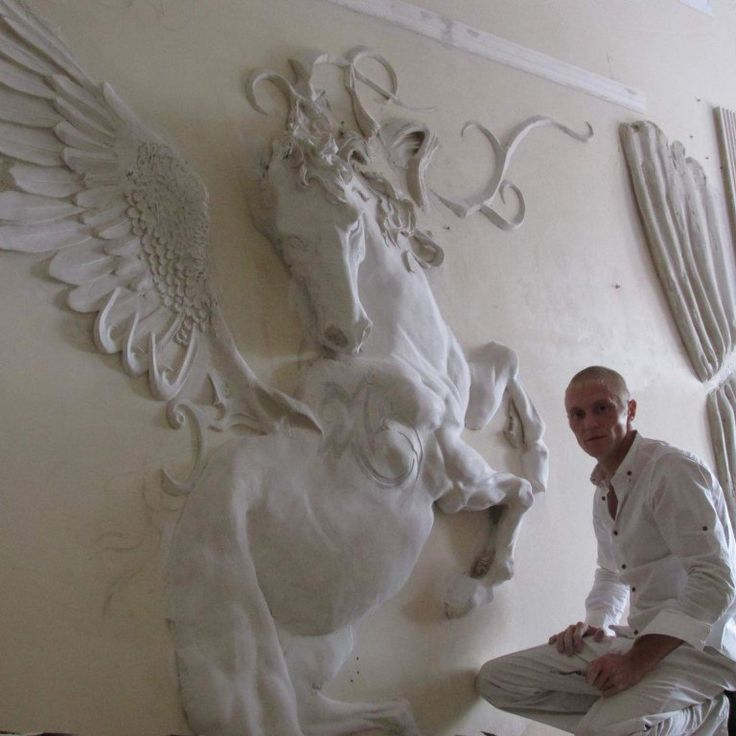 768 768 woodworking art pinterest for Plaster wall art
