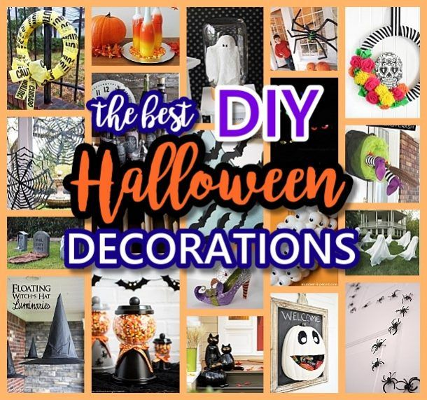 The BEST Do it Yourself Halloween Decorations {Spooktacular Halloween DIYs, Handmade Crafts and Projects!} Dalakita