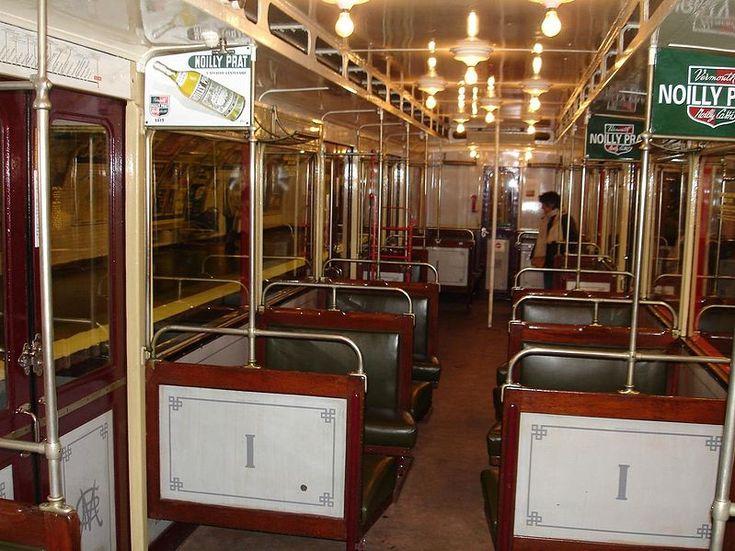 Les rames Sprague-Thomson ont été construites par séries successives entre 1908 et 1938. La rame historique de la RATP est composée de voitures du type le plus moderne, construites de 1930 à 1935 selon les voitures du train. Ces rames circulèrent sur le réseau jusqu'en 1983.