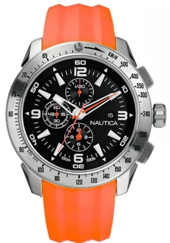 #Orologio Nautica uomo A17568G Indossa un orologio da polso #NAUTICA se vuoi essere elegante, da uomo di tipo #cronografo, con movimento al quarzo e bracciale in gomma.