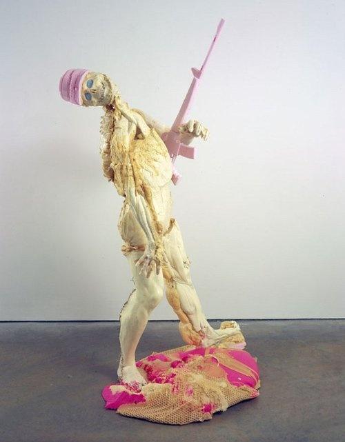"Folkert De Jong, ""Halleluja"", 2007, styrofoam, adhesive"