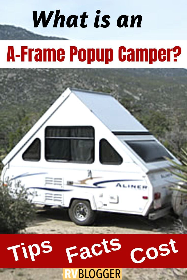 How Much Does An A Frame Pop Up Camper Cost Small Camper