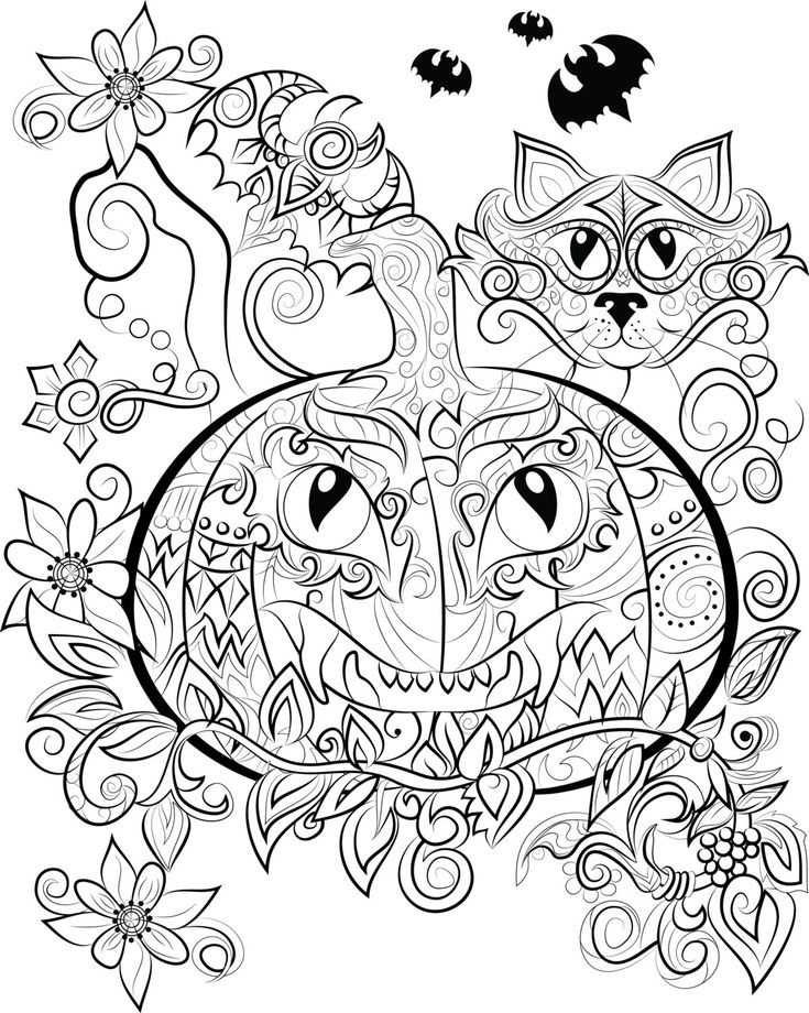 85 best Adult Coloring Books/pages images on Pinterest | Coloring ...