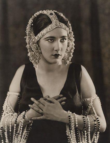 """Nita Naldi in """"Anna Ascends"""" 1923"""