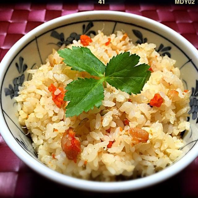 今晩は炊飯器でー すんまそん - 276件のもぐもぐ - TETSU♪さんの料理 オヤジ特製『上海蟹ご飯』再び by tetsu333