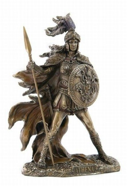 Greek Goddess Athena statue - The Warrior Goddess
