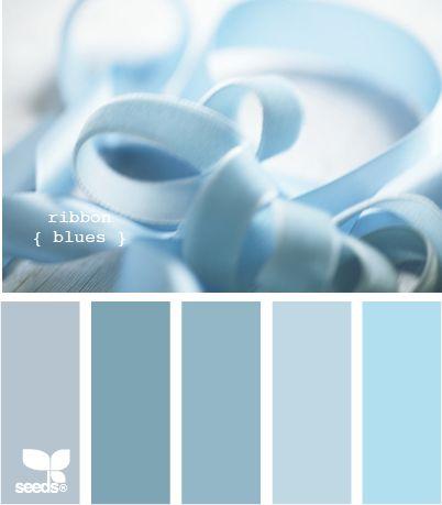 color palette #colorpalette, icy blues