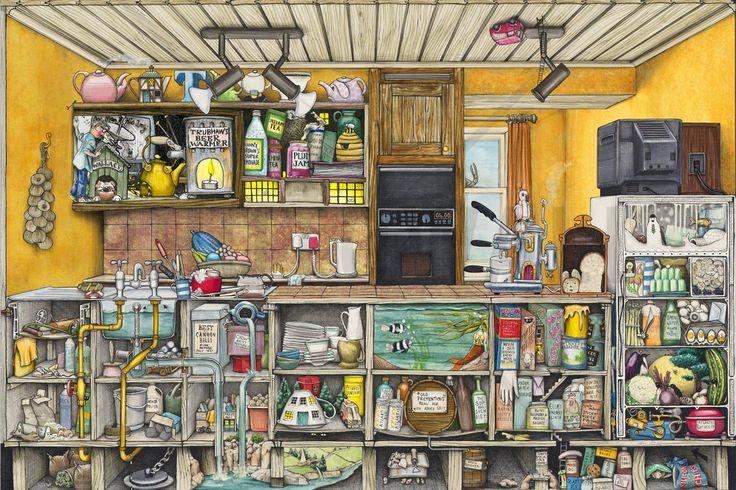 The Kitchen - Fototapeter & Tapeter - Photowall