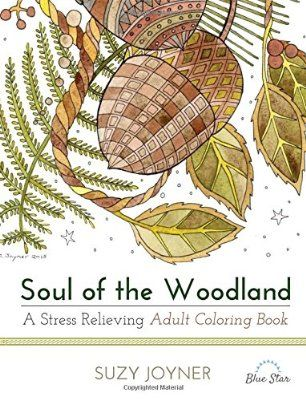 Soul Of The Woodland A Stress Relieving Adult Coloring Book