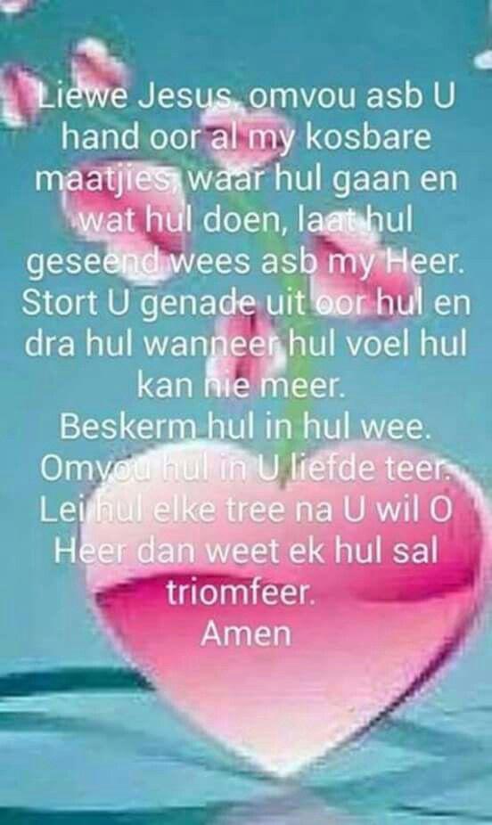 Gebed - Afrikaans