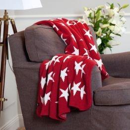 Beautiful 10 Star Knit | Pläd 130X180 Cm