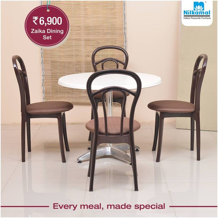 Fashion Your Dining Space With Our Exclusive Zaika Table Set Nilkamal DiningSet