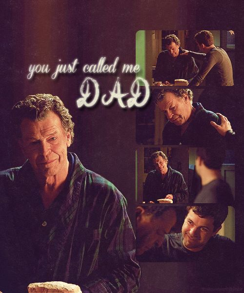 """""""You just called me dad."""" ~ Walter. """"Yeah, I guess I did."""" ~ Peter S2:Fringe"""