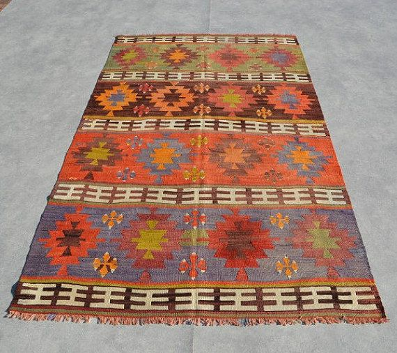 Alfombra Kilim Anatolia 7'8 '' x 4'8