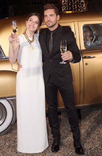 María Valverde y David Bisbal juntos en Freixenet
