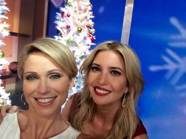 """Amy Robach and Ivanka Trump celebrate #GirlPowery with Trump's new initiative """"Women Who Work"""""""