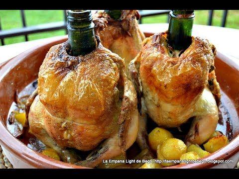 LA EMPANA LIGHT DE BEGO: Pollo Sentado al Cava. Receta Fácil de Pollo Al Horno