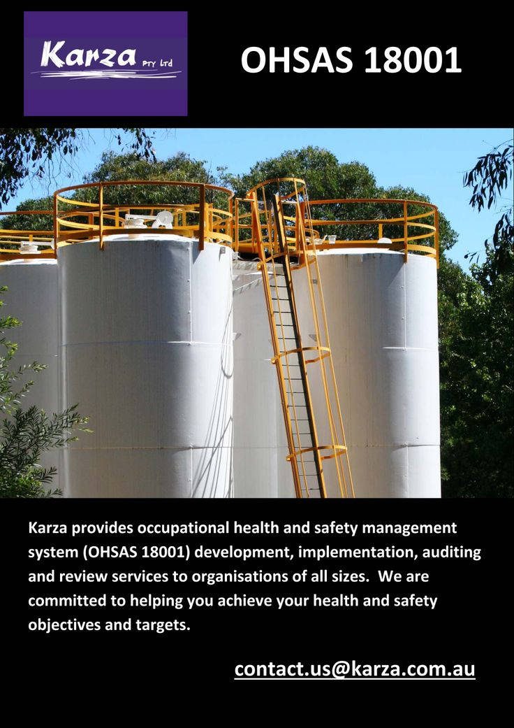 Karza provides OHSAS18001 support