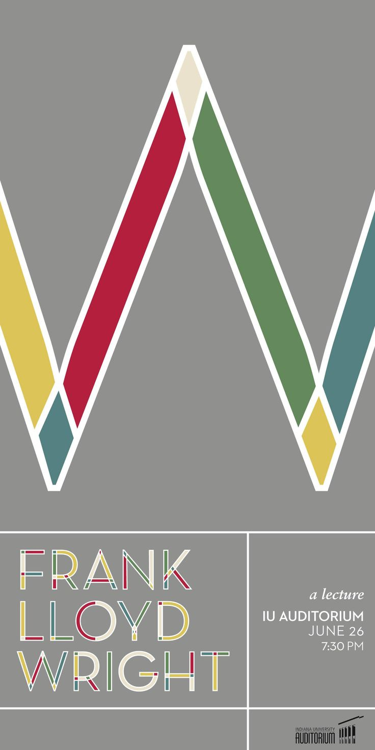 frank lloyd wright graphic design Google
