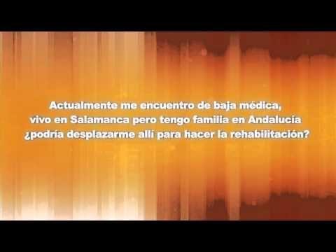 ▶ Baja médica y rehabilitación en otra comunidad - YouTube