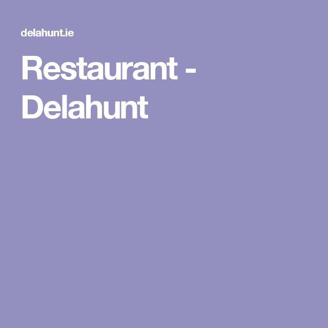 Restaurant - Delahunt