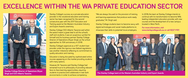 The West Australian,_WA Community Excellence Award Winners_ published December 18_2017