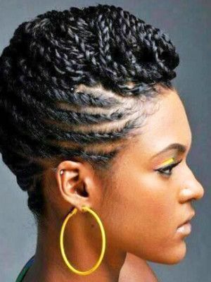 Black Women Braided Hairstyles | Hairstyles 2015 New Haircuts and Hair Colors from special-hairstyles.com