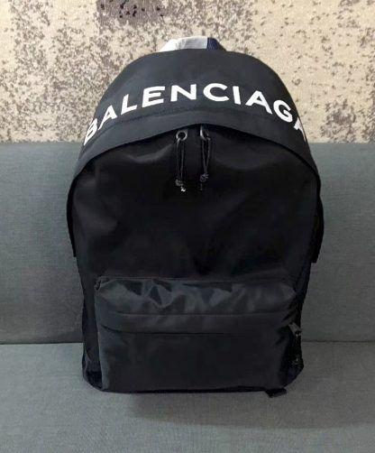 a922e003e7 Replica Balenciaga Wheel Backpack Black  5708 2
