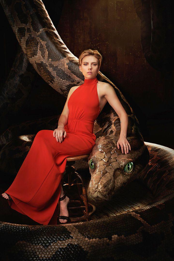 Scarlett Johansson est Kaa (© Disney / Sarah Dunn) Le livre de la jungle